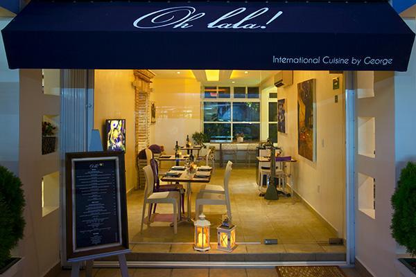 Restaurante Oh Lala by George, em Playa del Carmen.