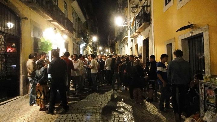 Bairro Alto, em Lisboa